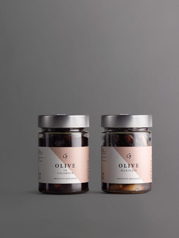 GALIARDI –Azienda Agricola Cartoceto –Olive in Salamoia e Olive Marinate