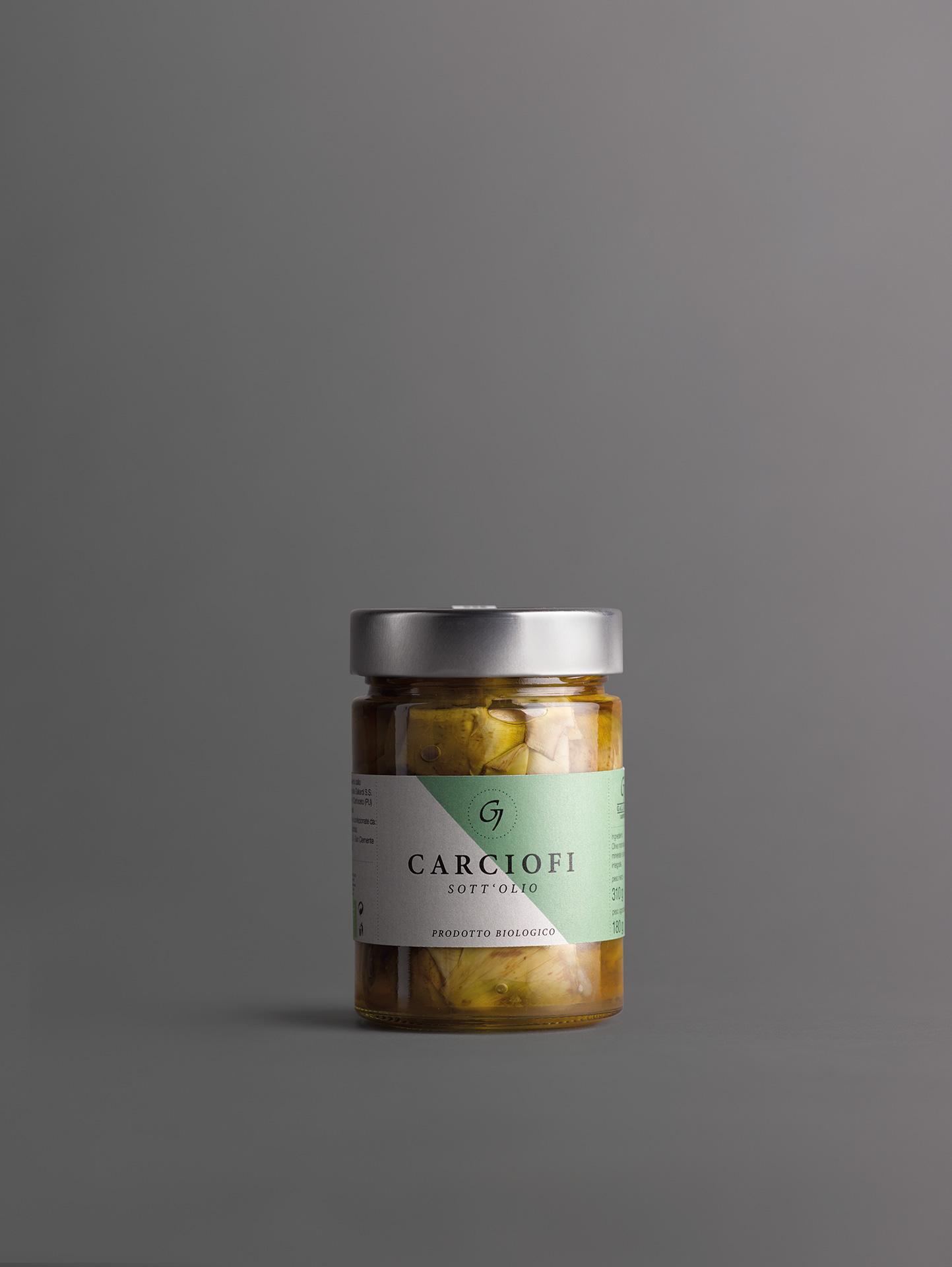 GALIARDI – Azienda Agricola Cartoceto – Carciofi sott'olio